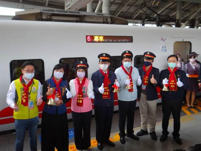 南迴鐵路電氣化最後一哩路,屏東枋寮到台東知本今天通車。(台鐵提供)