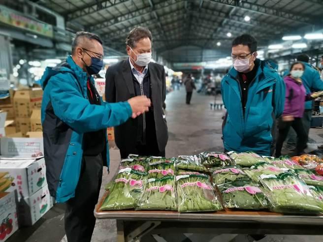 台中市農業局再推出農藥殘留質譜快篩技術。(台中市農業局提供/陳淑娥台中傳真)