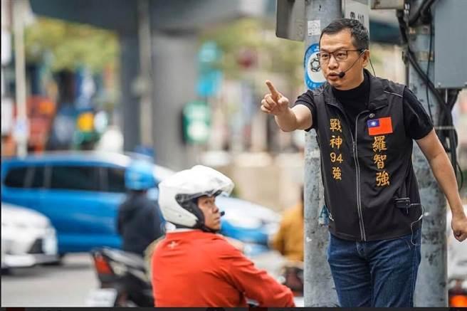 北市議員羅智強發起「懸崖勒豬」活動,第一個點名綠委蔡適應。(本報資料照片)