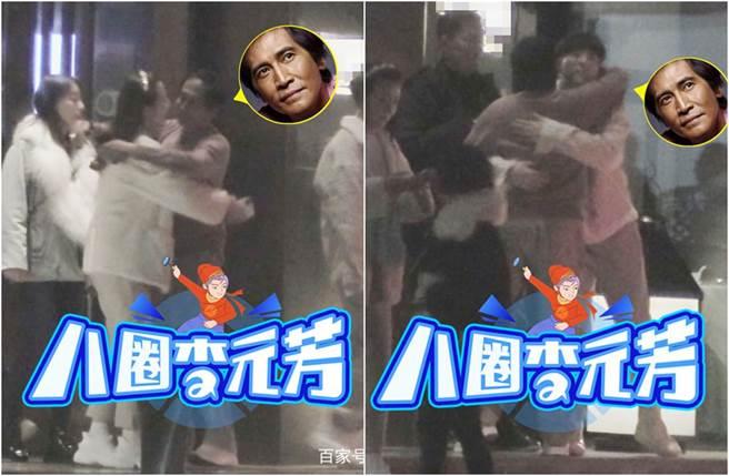 齊秦被拍到日前在北京與好友聚會。(圖/翻攝自八圈李元芳)