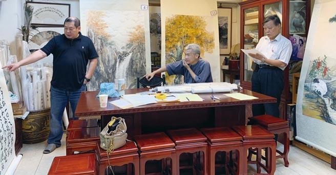 中華九九書畫會庚子年創作獎比賽,經嚴格評審獲獎名單出爐,並於中正紀念堂瑞元廳展出。圖/中華九九書畫會提供