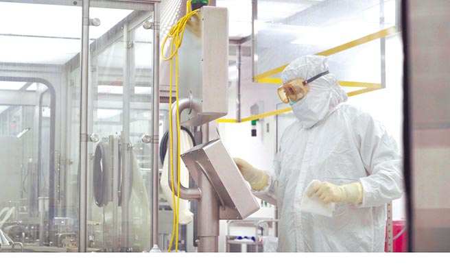 AstraZeneca藥廠的生產和製造設施。(取自AstraZeneca官網)