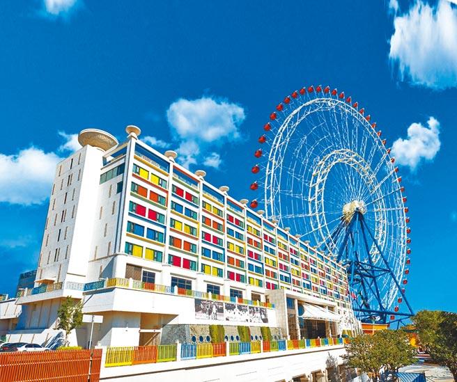 台中麗寶樂園渡假區集結豐富多元的遊樂休憩場所,5星級「麗寶福容大飯店」尤其受到親子客喜愛。(福容大飯店提供)