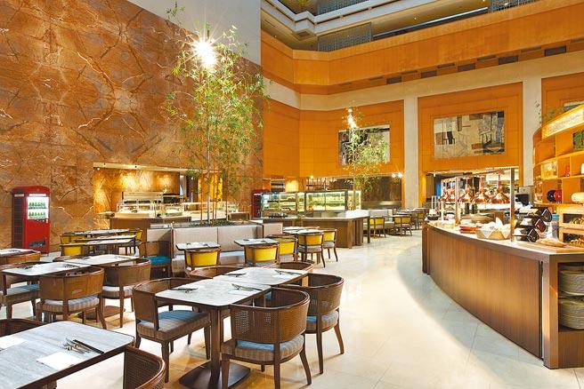 台北喜來登大飯店的十二廚跨年將化身派對空間。(台北喜來登大飯店提供)