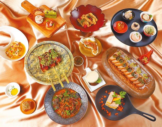 台南晶英酒店全罩式派對的賓客可大啖20道美食。(台南晶英酒店提供)