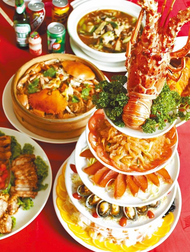 台北圓山大飯店首度在跨年夜推辦桌宴。(台北圓山大飯店提供)