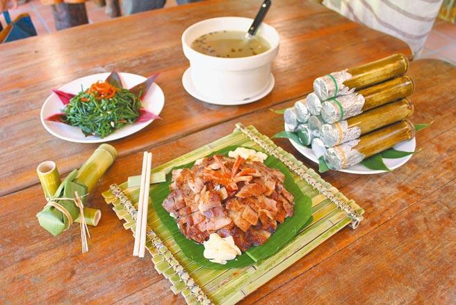 泰雅族料理體驗。(雲仙樂園提供)