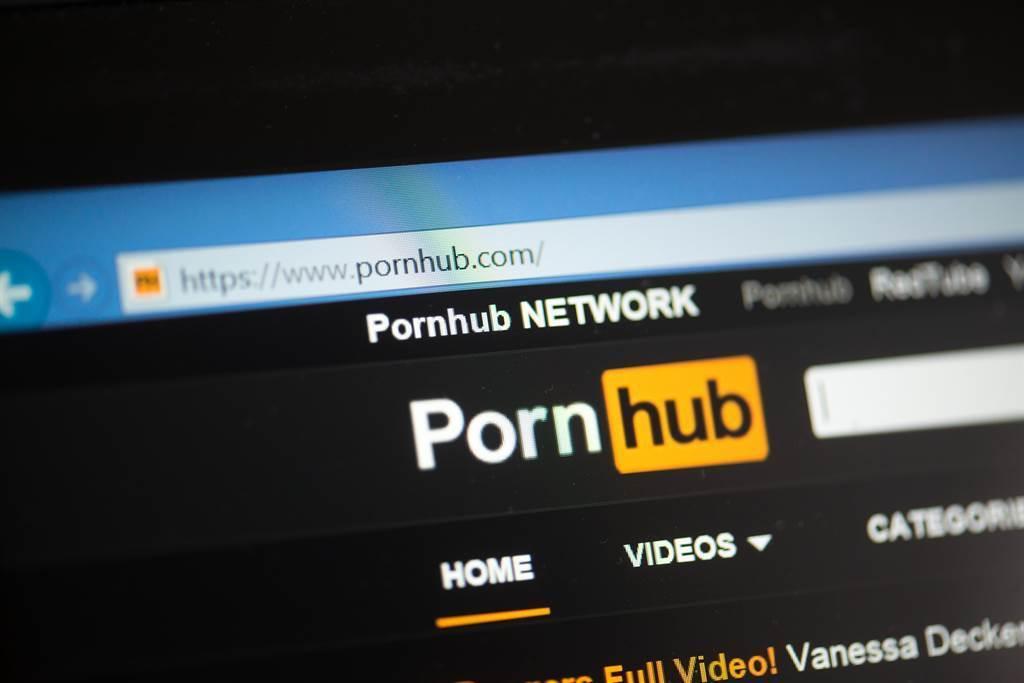Pornhub陷入不法影片爭議危機(圖/達志影像)