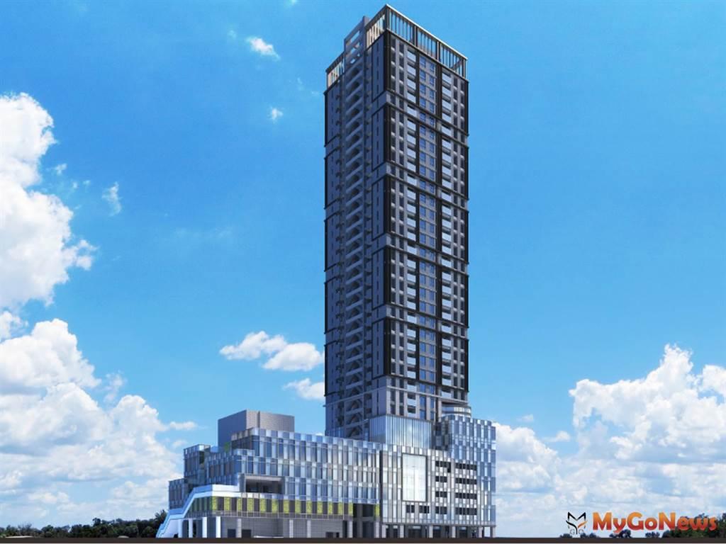 北市公辦都更「捷運科技大樓瑞安段」3G模擬示意圖(圖/台北市政府)