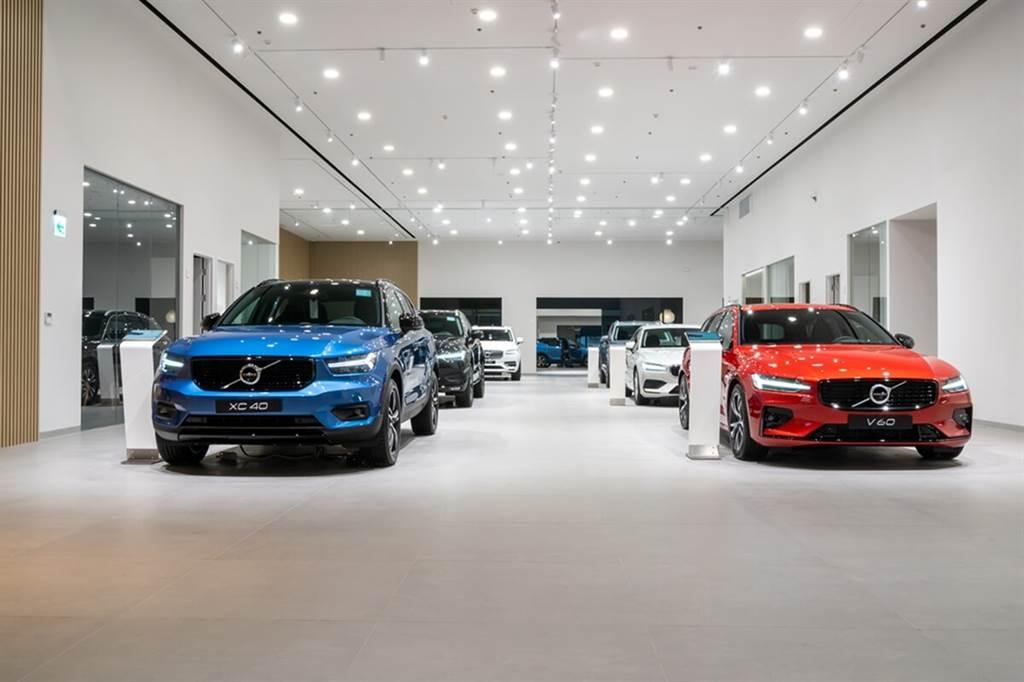 斥資五億打造頂級北歐奢華空間!Volvo Retail Experience凱銳新莊旗艦店正式開幕