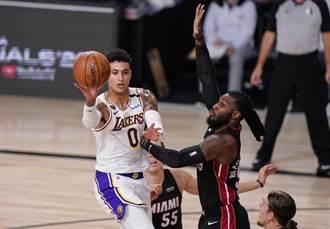 NBA》湖人砸4000萬美元 續約庫茲馬3年