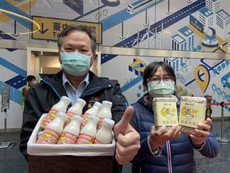 非基改豆漿進校園 中市農業局行銷鼓勵打拚的農友