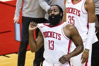 NBA》哈登違規加多人捲新冠疑雲 火箭雷霆不打了