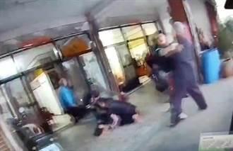 發酒瘋推擠罵警察 兩男上銬妨害公務移送