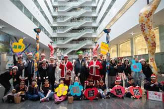 伊甸身障學員報佳音 台中市府洋溢耶誕歡樂氣氛