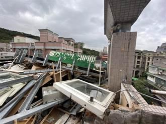 新北市府強制拆除4件違建 收費超過百萬