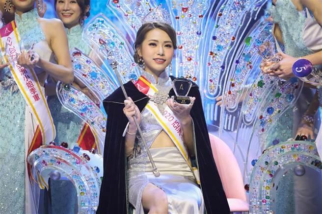 蔡小蝶是亞洲小姐冠軍。(圖/翻攝自亞洲小姐競選 Miss Asia Pageant 2020)