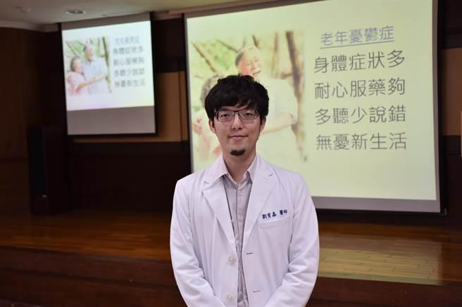 台南市立醫院醫師劉育嘉。(南市醫提供/李宜杰台南傳真)