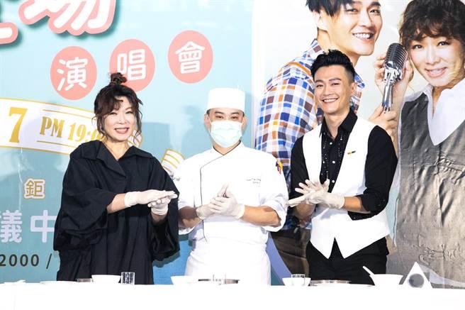 趙詠華攜手林俊逸明年3月在台北國際會議中心舉辦演唱會。(FGC 遠雄創藝提供)