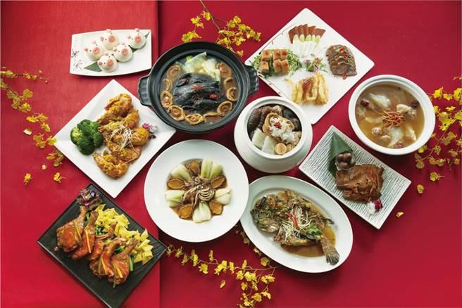 新竹喜來登即日起至2021年2月16日推出「年菜外帶」為民眾輕鬆打理一桌澎派的團圓佳餚。 (新竹喜來登提供/羅浚濱新竹傳真)