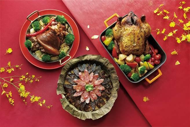 新竹喜來登2月1日前預訂外帶年菜並付款完成可享早鳥88折優惠。(新竹喜來登提供/羅浚濱新竹傳真)