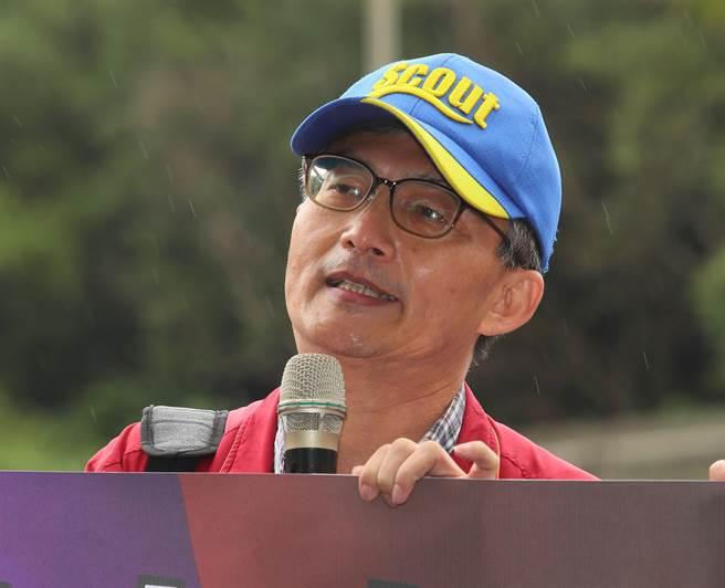 日前因萊豬相關言論遭到檢方調查的醫生蘇偉碩。(陳怡誠攝)