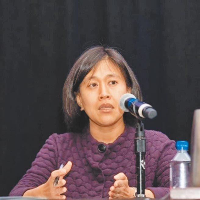 父母親來自台灣的華裔美籍戴琦擔任美國貿易代表。(圖取自美中貿易全國委員會官網)
