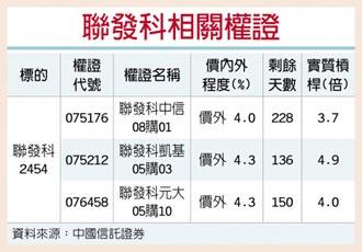 權證星光大道-中國信託證券 聯發科 明年有望賺更大