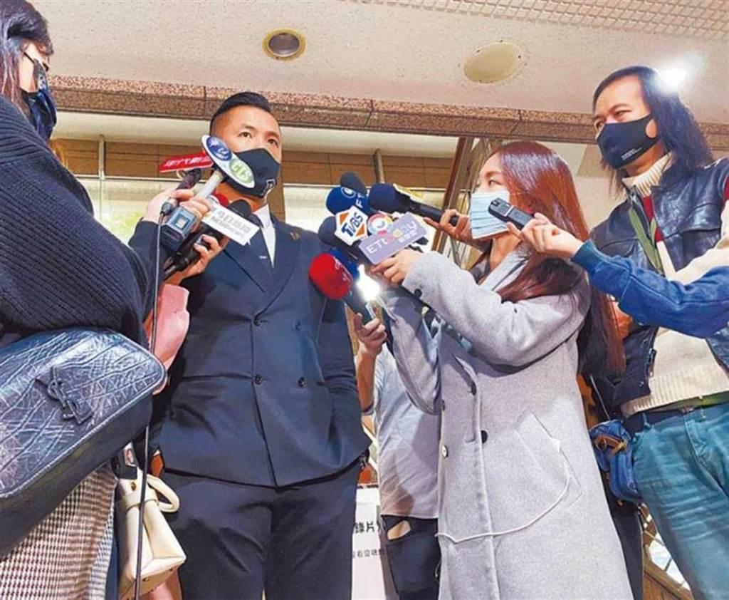 PLG執行長陳建州,出面譴責余男的數位性暴力。(圖/報系資料庫)