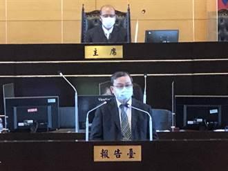 北捷局長張澤雄今天到市議會說明 張澤雄:北捷局可代位求償