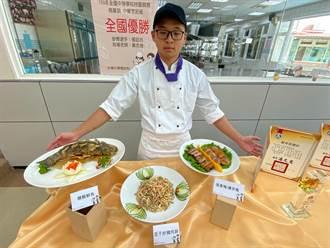 新竹光復高中學生再奪中餐、烘焙優勝