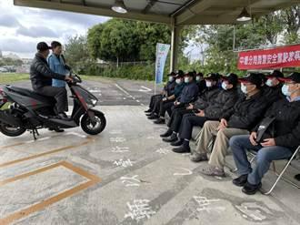 員警赴駕訓中心 提升騎車技術及觀念