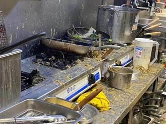 保護傘餐廳遭潑糞 受傷女店長首露面、拒和解