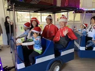 建立孩童防疫观念 苗栗议长送1万个超吸睛耶诞节造型口罩
