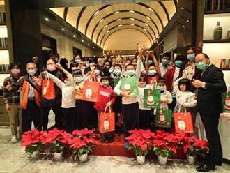 順天環匯連續3年邀「一粒麥」課輔班提前歡慶耶誕