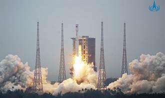 大陸長征8型火箭首飛成功 是可重覆火箭的前期試驗