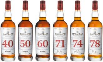 单一麦芽威士忌 麦卡伦The Red Collection