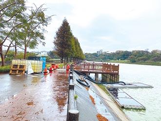 桃園埤塘啟用 日送2000噸水