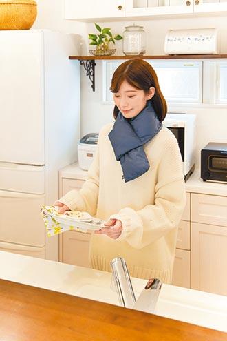 保暖衣搭小物 居家暖呼呼