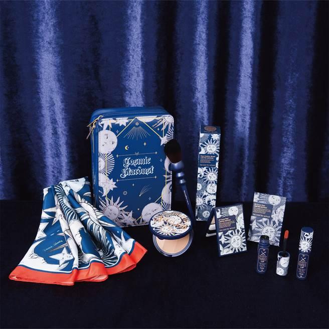 「宇宙星辰Cosmic Stardust」系列星光禮盒,NT.2,380,門市獨家販售。(圖/品牌提供)