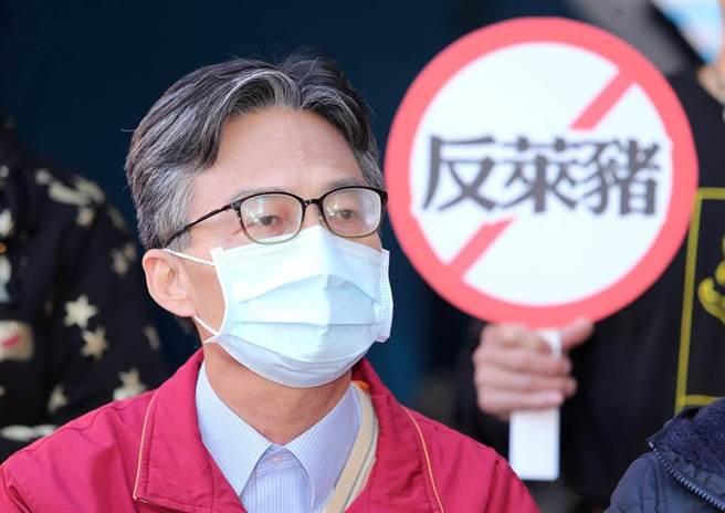 蘇偉碩因發表反萊豬言論遭查水表,甚至被公開隱私逐一公審與凌辱,坦言很害怕。(資料照/黃世麒攝)