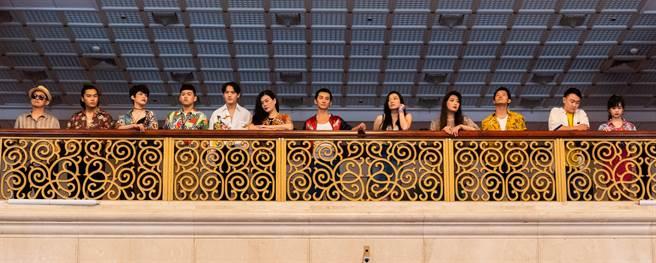 《十殿》演員近30位,陣容龐大,包含曾出演《大佛普拉斯》的電影導演莊益增、著名劇場導演李明哲、劇場編導杜思慧、曾入圍金鐘獎戲劇類最佳男配角的李辰翔都在其中。(兩廳院提供)