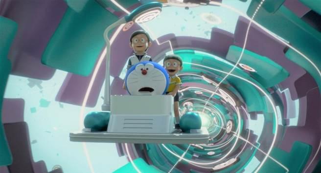 哆啦A夢誕生50周年推出的3DCG動畫電影《STAND BY ME 哆啦A夢2》。(車庫娛樂提供)
