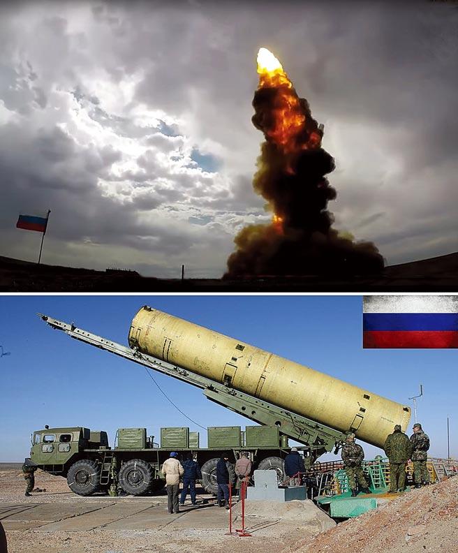 俄羅斯發展新型反彈道及反衛星導彈A-235 Nudol ABM 系統。(摘自網路)