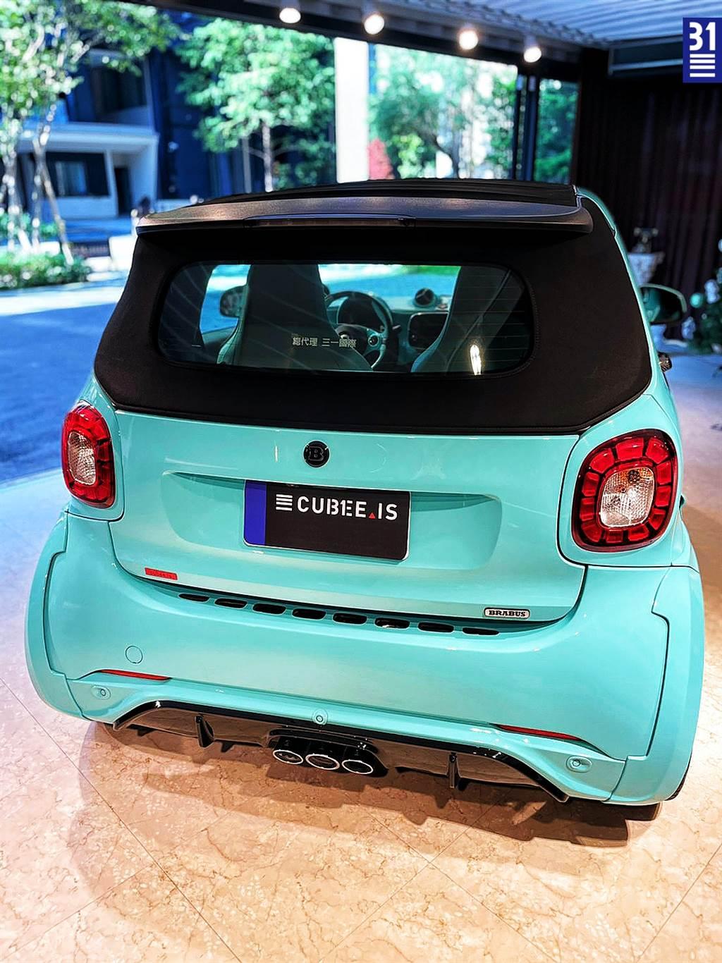 全球限量 125 台,三一國際獨家導入 BRABUS Ultimate、採全球唯一 TiffanyBlue 配色