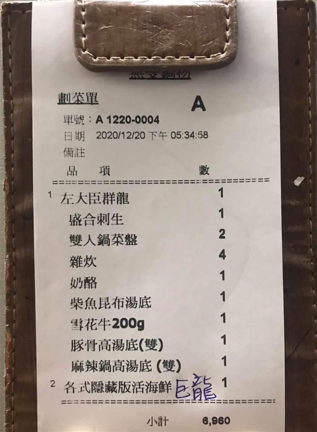 店家表示,基於信任與善良誠意,沒有先跟客人收取訂金,沒想到卻遇客人放鳥,最後只好將近7千元的食材作廢。(摘自爆怨公社)