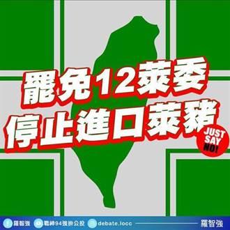 羅智強號召罷免12萊委 率先認領吳思瑤