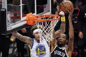 NBA》勇士開幕戰狂輸籃網26分 杜蘭特力壓前隊友柯瑞