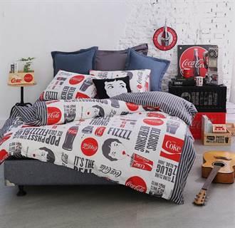 特力HOLA聯名「可口可樂」寢具家用首發