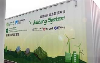 攻新能源商机 台塑生医大功率锂铁储能货柜上线